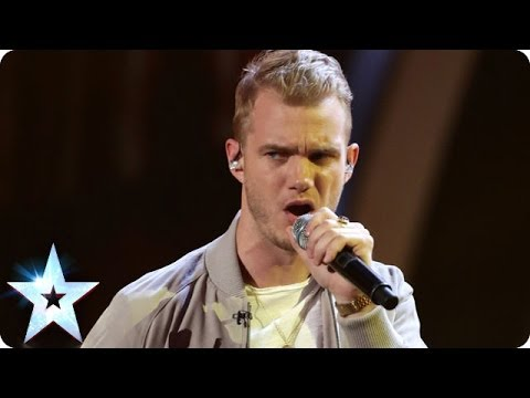 Ed Drewett performs self-penned track Blink | Britain's Got Talent 2014