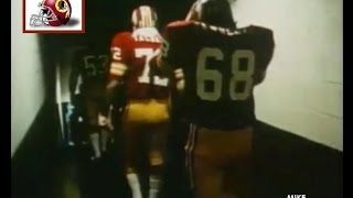 Three Cheers for the Redskins, by Steve Sabol. The over the hill gang & Mike Fanucci (1971-72