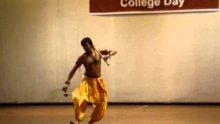 Mayurbhanj chhau dance solo by rakesh sai babu