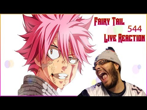 Fairy Tail Chapter 544 Live Reaction: LMAO what is this sh*t?