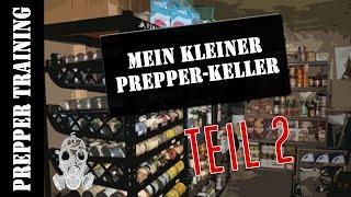 Mein Prepper Keller Teil 2 | Teelichter, Gasmaske u Kartuschen | German HD 1080p