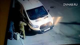 Нападение на инкасаторов Хабаровск (Репетиция)