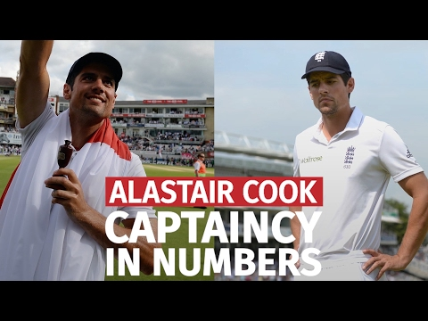 Alastair Cook Resigns - His England Captaincy In Numbers