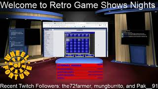 Late Night Retro Game Shows