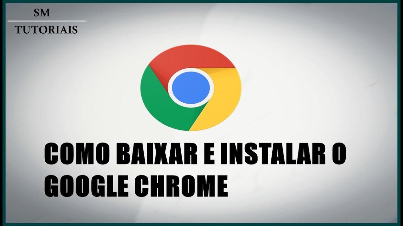 Para iniciantes - Como baixar e instalar o Google Chrome ...