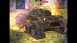 World of Tanks Blitz JPanther 2 und T 54 lt WOT Blitz Folge 1 German/Deutsch