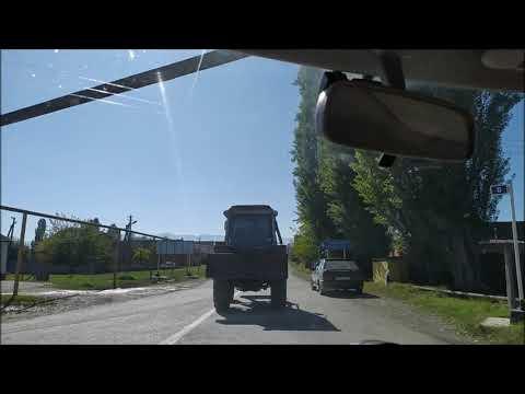 Село Гехи - дорога в Галанчож | октябрь 2019, туризм в Чечне