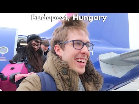 Flying to Budapest Hungary with Kim! | Evan Edinger Travel