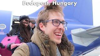 Flying to Budapest Hungary with Kim! | Evan Edinger Travel