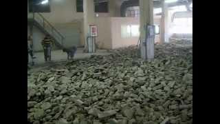 видео Демонтаж бетонных полов