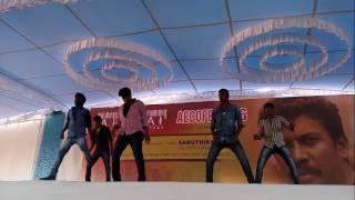 Aecofest-Arunai Engineering College Best Dance Ever 2016 by EIE dept