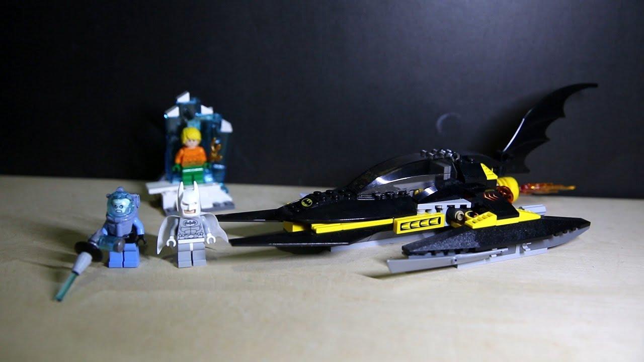arctic batman vs mr freeze aquaman on ice instructions