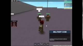 Roblox AFP Drilling for a Special visitor
