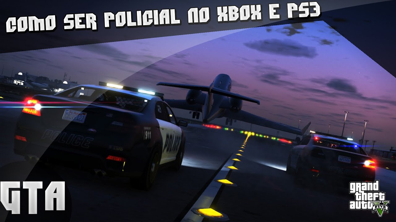 Como Ser Policial No Gta 5 Xbox360 E PlayStation 3 YouTube