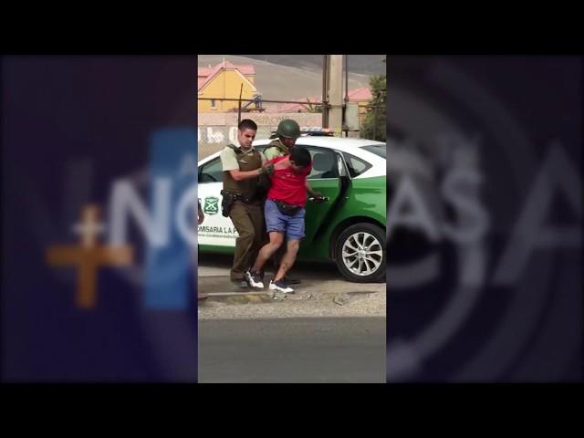 PROCEDIMIENTO POLICIAL 5 DETENIDOS