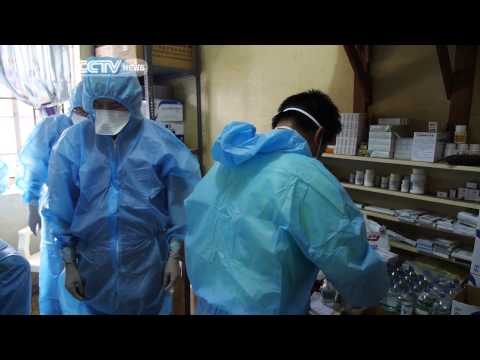 Chinese Medical Team in Sierra Leone Help Fight Ebola Outbreak
