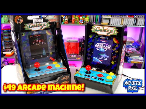A $49 Arcade Machine! Arcade1UP Galaga Version 2 Countercade Review! from Madlittlepixel