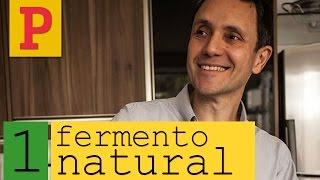Como fazer fermento natural - Vídeo 1