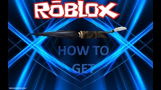 (EVENT)how to get THE Black Panther - Dagger ON ROBLOX