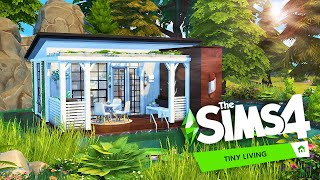 Floating Tiny House 🌲 | The Sims 4: Tiny Living | Speed Build