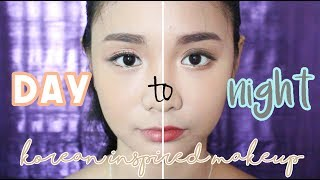 Day Night Korean Inspired Makeup Ft Romand First Ever Voiceover Hahaha