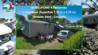 Mobile homes camping du poulquer benodet  2015