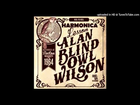 Alan Wilson Harmonica Lesson (part 1 )