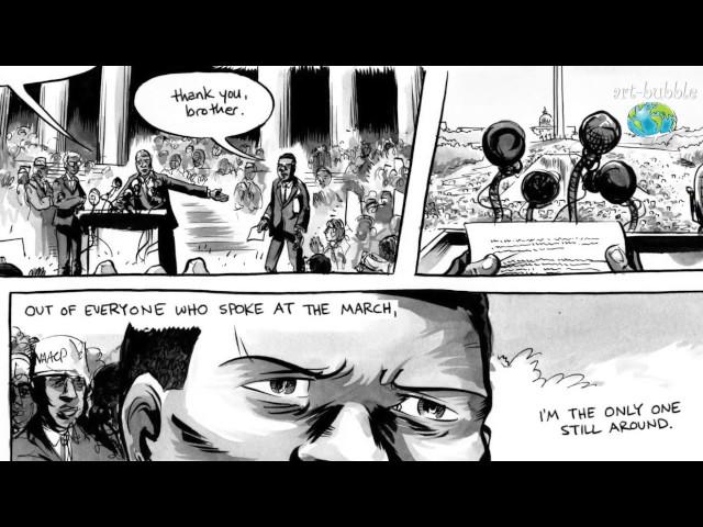 Art Bubble TV: Nate Powell om MARCH