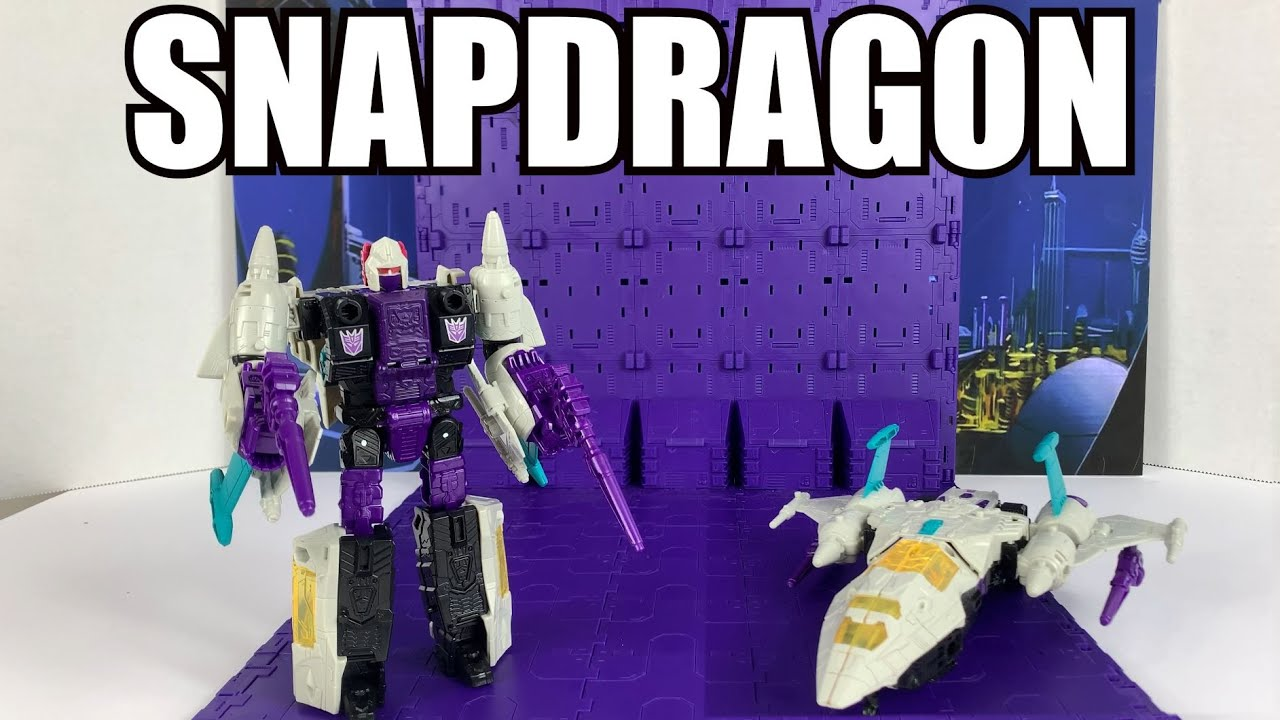 Transformers Earthrise Snapdragon Unboxing and Review By Enewtabie