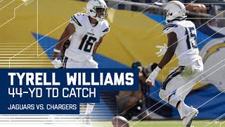 Tyrell Williams Spins Through Defenders for Huge TD! | Jaguars vs. Chargers | NFL