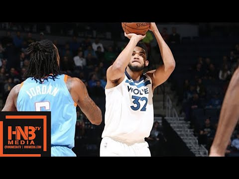 LA Clippers vs Minnesota Timberwolves Full Game Highlights / March 20 / 2017-18 NBA Season