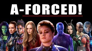 A-FORCE SCENE RUINED AVENGERS ENDGAME WITH IT'S SEXIST PROPAGANDA