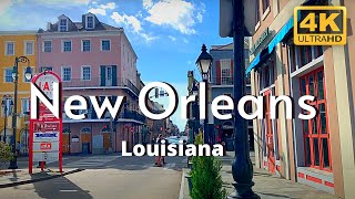 New Orleans Louisiana 4k Travel Tour French Quarter