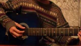 AOA- Short Hair Acoustic Guitar Cover (Instrumental)