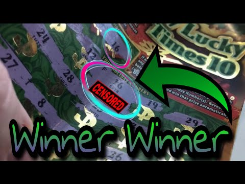 Winning on the Ohio Holiday lottery tickets || $250,000 Top prize