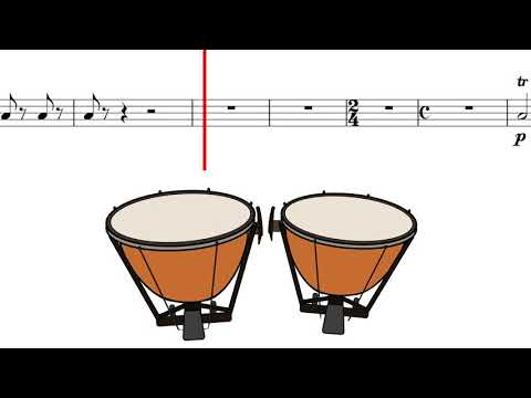 Timpani Moments – Rachmaninoff Symphonic Dances, Op. 45 - I. Non allegro