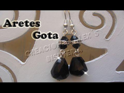 Bisutería Aretes Gota                ((16))