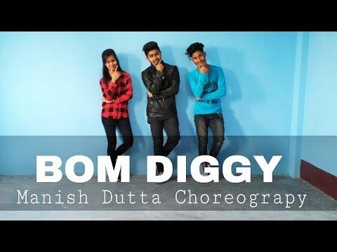 Zack Knight X Jasmin Walia - Bom Diggy | Dance Viodeo | Manish Dutta