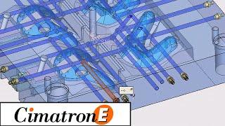 CimatronE. Задание системы охлаждения(, 2013-07-24T08:03:31.000Z)