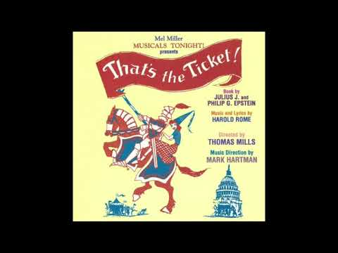 That's The Ticket ! Musical 2002