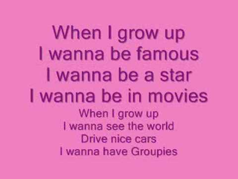 When I Grow Up - PussyCat Dolls - With Lyrics