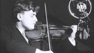 yehudi menuhin violinist   ravel kaddisch 1936