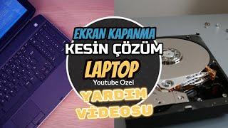 Laptop ekran açılmama problemi nasıl çözülür? Kesin Çözüm!!!