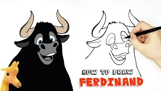 How to draw Ferdinand | a Bull