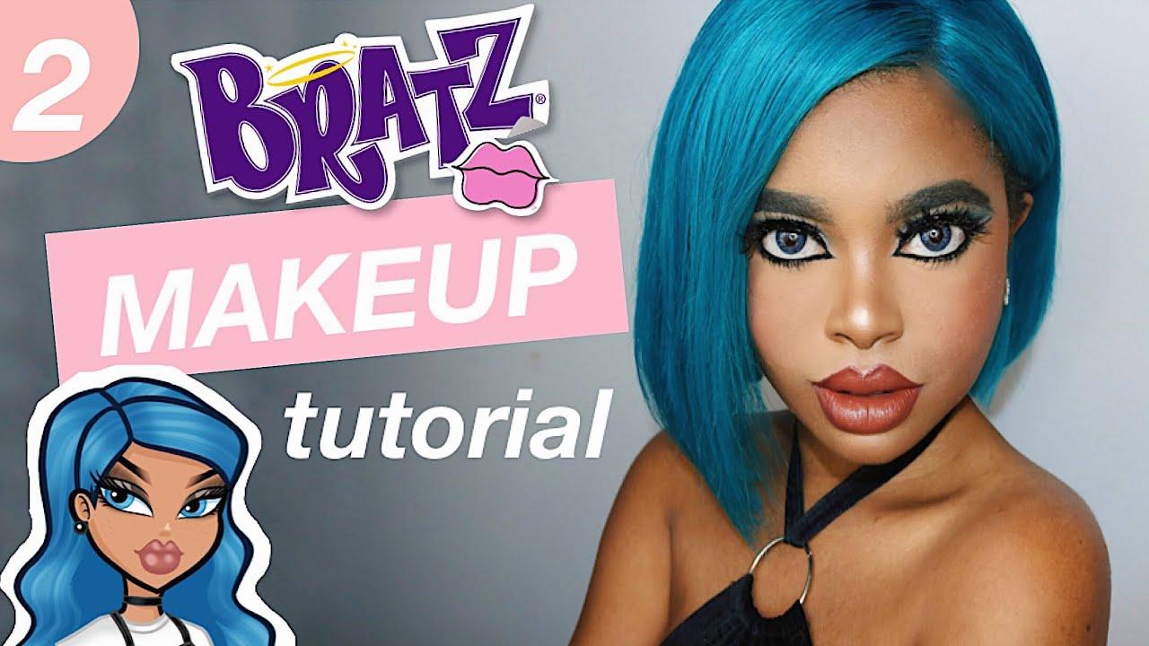 Anarkee:  Bratz Inspired Makeup Tutorial | Anarkee Loves the Bratz Part 2