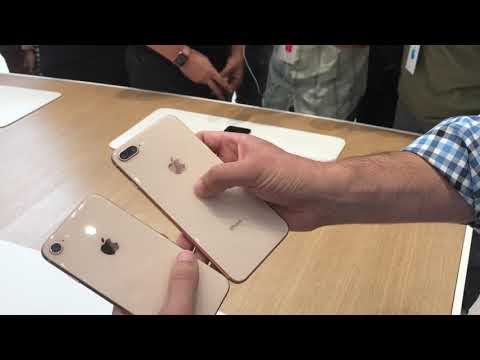 Iphone 8 and iphone 8 plus  hands on review