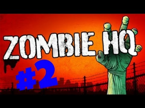 Zombie HQ PlayThrough-WalkThrough Part 2