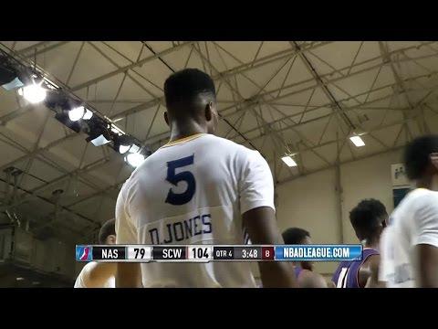 Damian Jones posts 17 points & 9 rebounds vs. the Suns, 12/16/2016