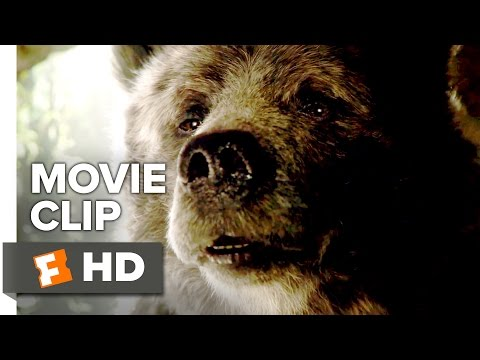 The Jungle Book Movie CLIP - Baloo (2016) - Bill Murray Movie HD