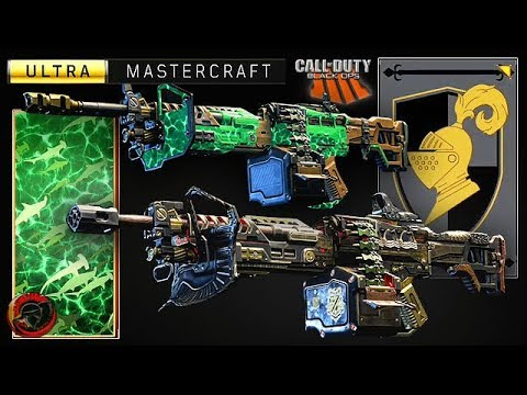 COD BO4 - (TITAN) ULTRA 'MASTERCRAFT' SIGNATURE (BLACK KNIGHT) - 'REACTIVE CAMO'  HOW TO UNLOCK